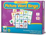 Match It - Picture Word Bingo