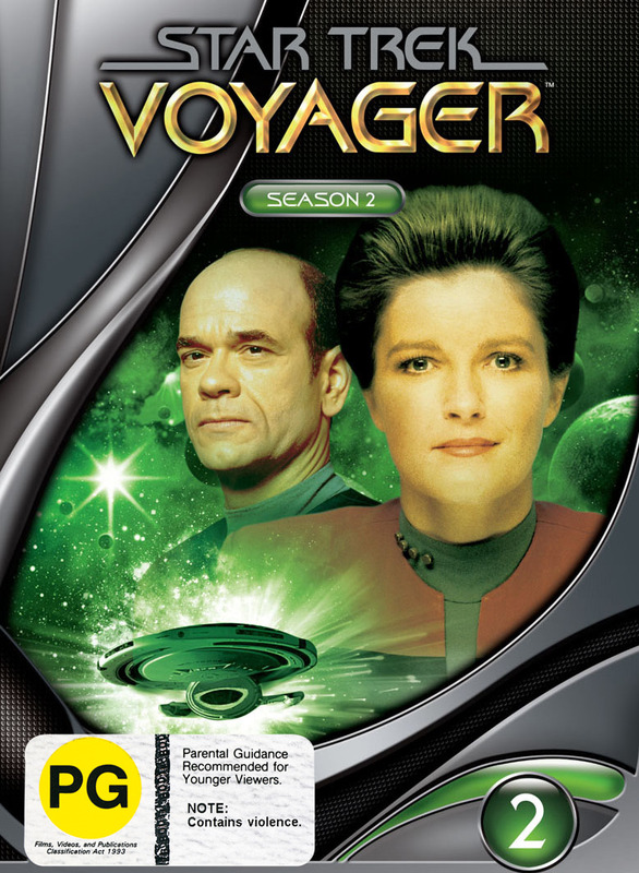 Star Trek: Voyager - Season 2 (New Packaging) on DVD