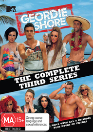 Geordie Shore - Series 3 on DVD