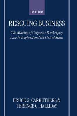Rescuing Business by Bruce G Carruthers image