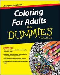 Coloring For Adults For Dummies by Consumer Dummies