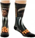 Pulp Fiction: Split - Sublimated Crew Socks