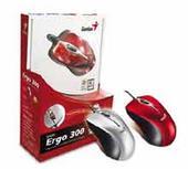 Genius Ergo 300 Optical Mini Mouse USB/PS2 Silver