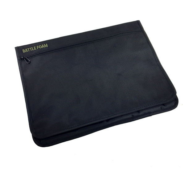 Battle Foam: Large Rulebook/Media Pouch - P.A.C.K. Molle Accessory (Black)