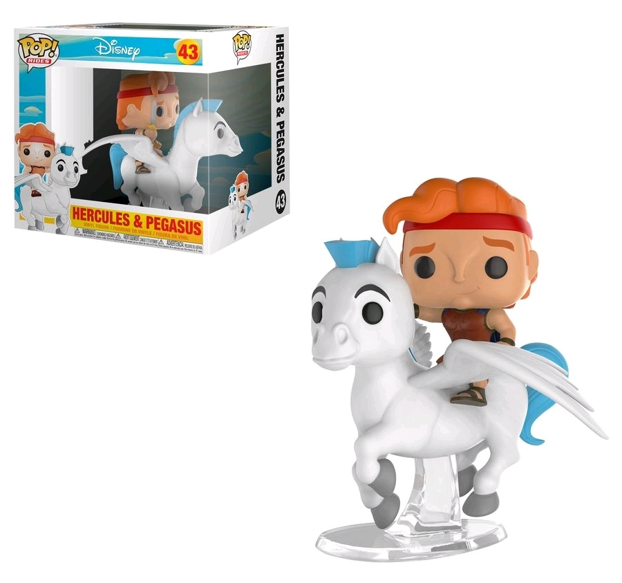 Hercules & Pegasus - Pop! Ridez Vinyl Set image