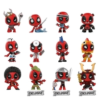 Deadpool: Playtime Mystery Mini - Vinyl Figure - [Hot Topic Ver.] (Blind Box)