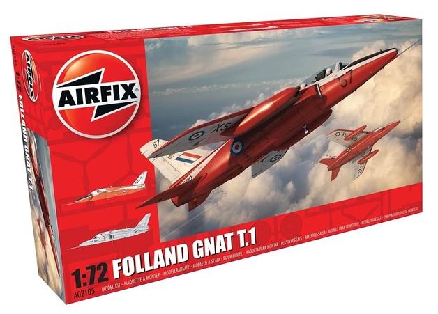 Airfix 1:72 Folland Gnat T.1 - Model Kit