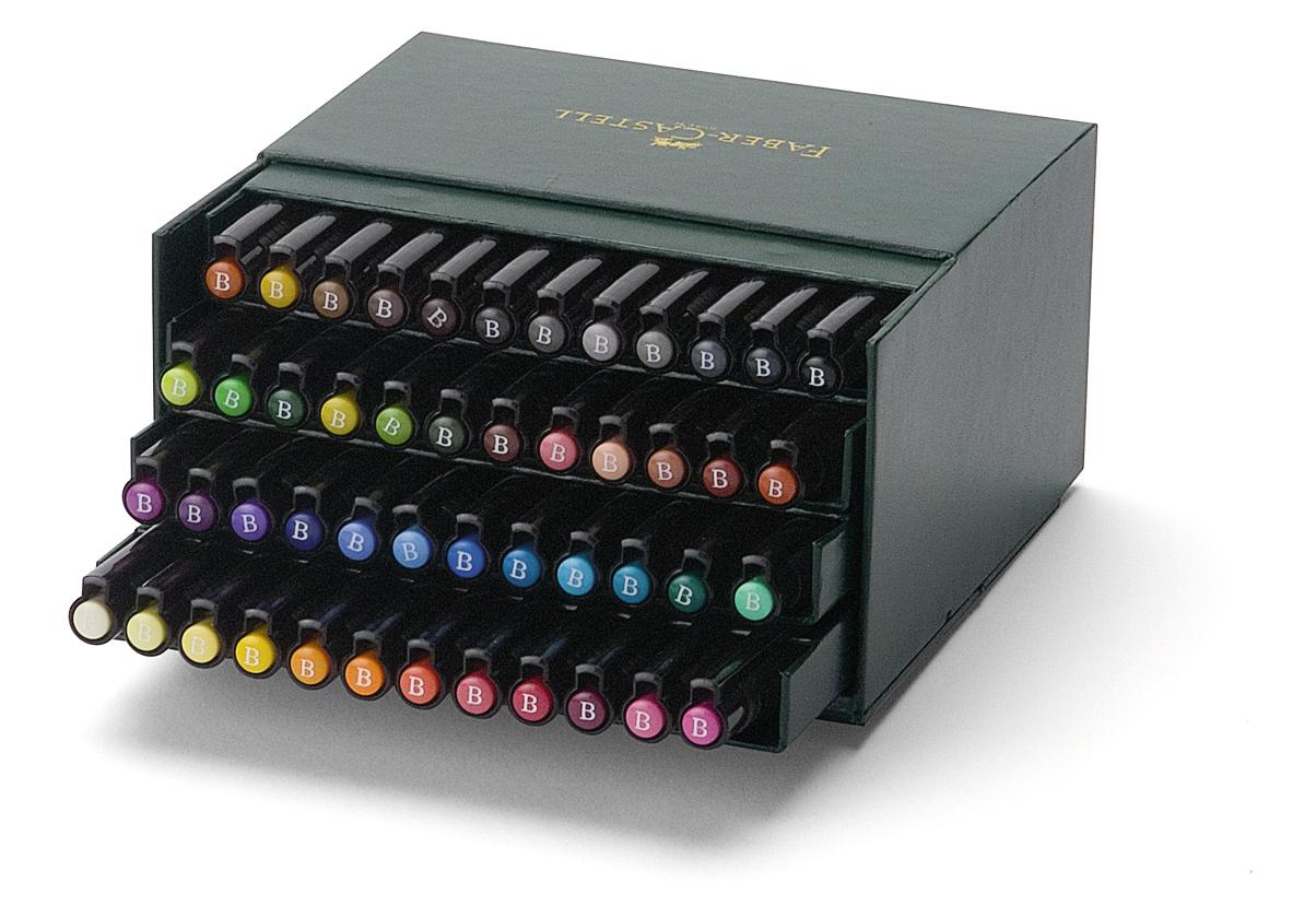 Faber-Castell: Pitt Artist Pens B Studio (Box of 48) image