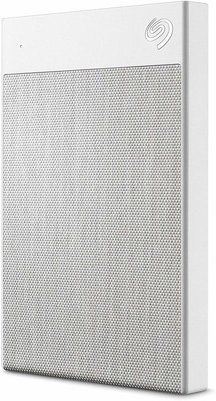 2TB Seagate Backup Plus Ultra Touch - White
