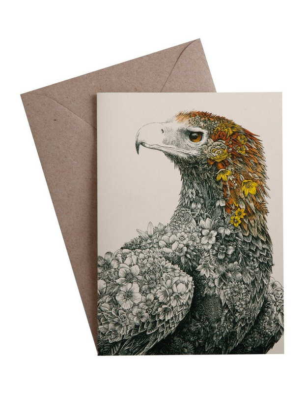 Maxwell & Williams: Marini Ferlazzo Birds Greeting Cards - Eagle