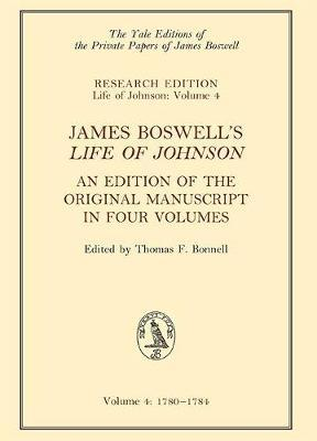 James Boswell's 'Life of Johnson' by James Boswell