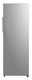 Midea 268L Upright Freezer/Fridge Dual Mode Stainless Steel