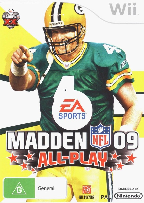 Madden NFL 09 All-Play for Wii