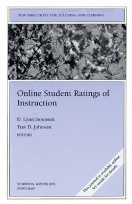 Online Student Ratings of Instruction