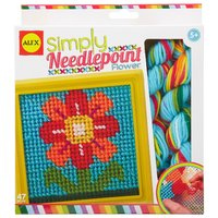 Alex: Simply Needlepoint - Flower