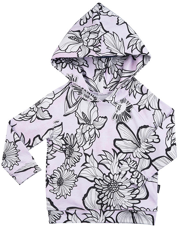 Bonds New Era Hoodie - Bloom Kaboom Lilac (3-6 Months)