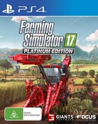 Farming Simulator 17 Platinum Edition for PS4