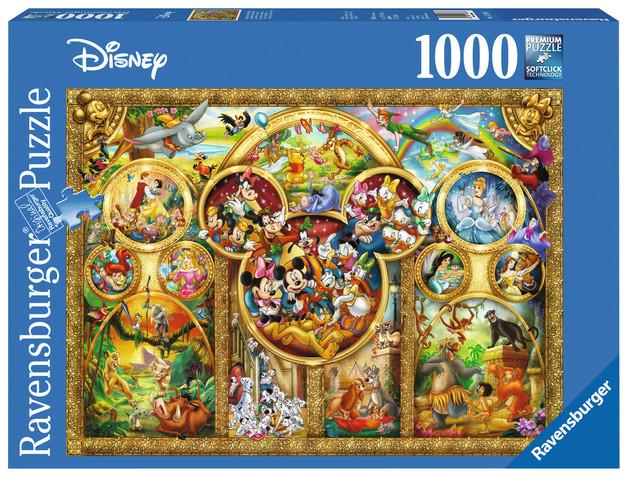 Ravensburger 1000pc Puzzle - The Best Disney Themes