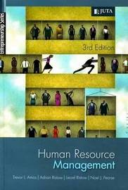 Human Resource Management by T. Amos image