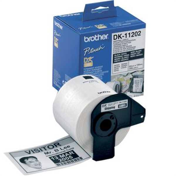 Brother Shipping Label DK11202 (White) image