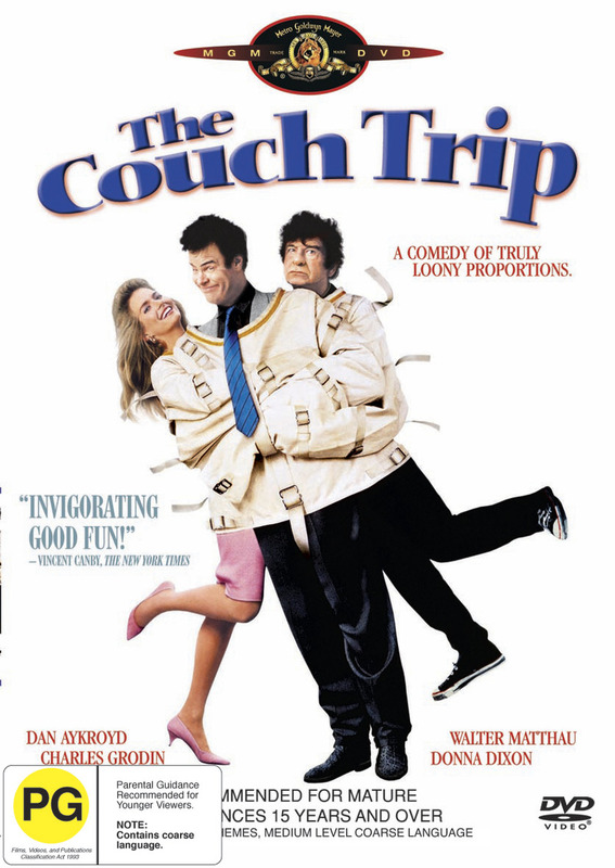 The Couch Trip on DVD