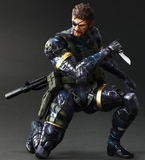 Metal Gear Solid V Play Arts Kai Snake - Ground Zeroes 11'' Action Figure