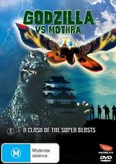 Godzilla Vs. Mothra on DVD