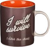 Musicology: I Will Survive Mug