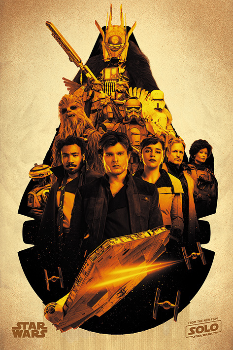 Solo: A Star Wars Story Maxi Poster - Millennium Falcon Montage (743)