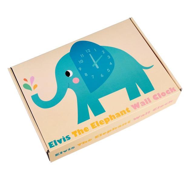 Wall Clock - Elephant
