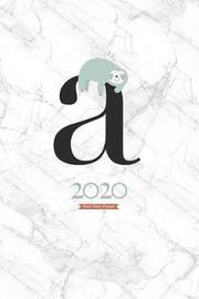 2020 Sloth Diary Planner by Elizabeth Riley