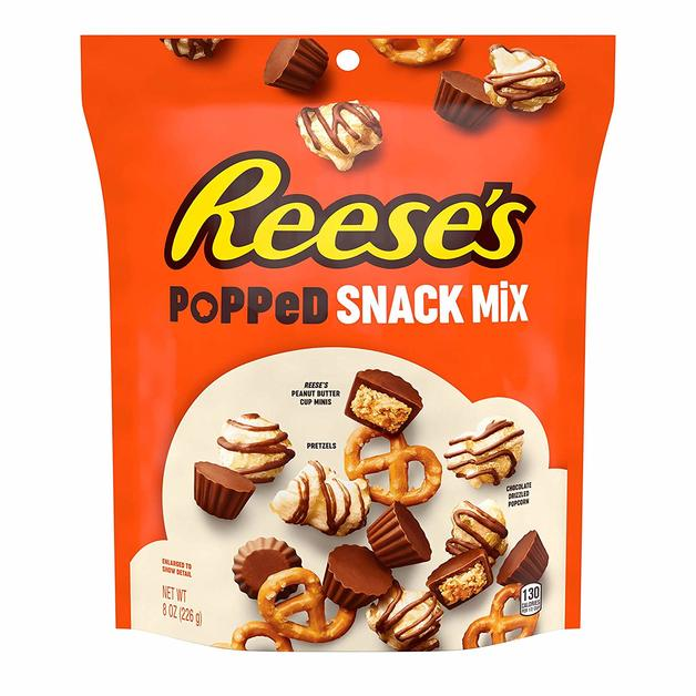 Reese's Popped Snack Mix Pouch (226g)
