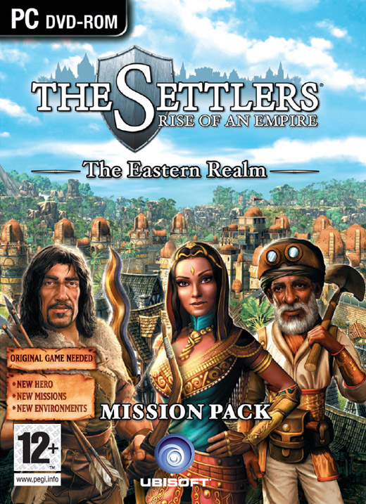 Settlers VI: The Eastern Realm Add-on for PC Games image