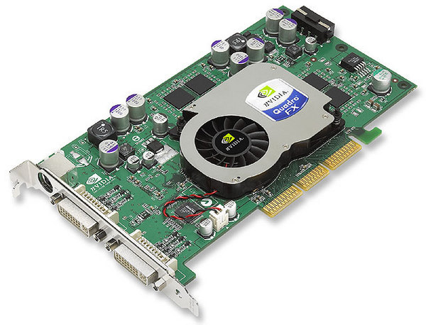 Leadtek Quadro FX1100 128MB   AGP