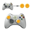 Silicone Key Protector Thumb Grip Caps for PS4 & Xbox (Yellow) for Xbox One