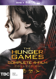 The Hunger Games Collection - Four Movie Box Set DVD