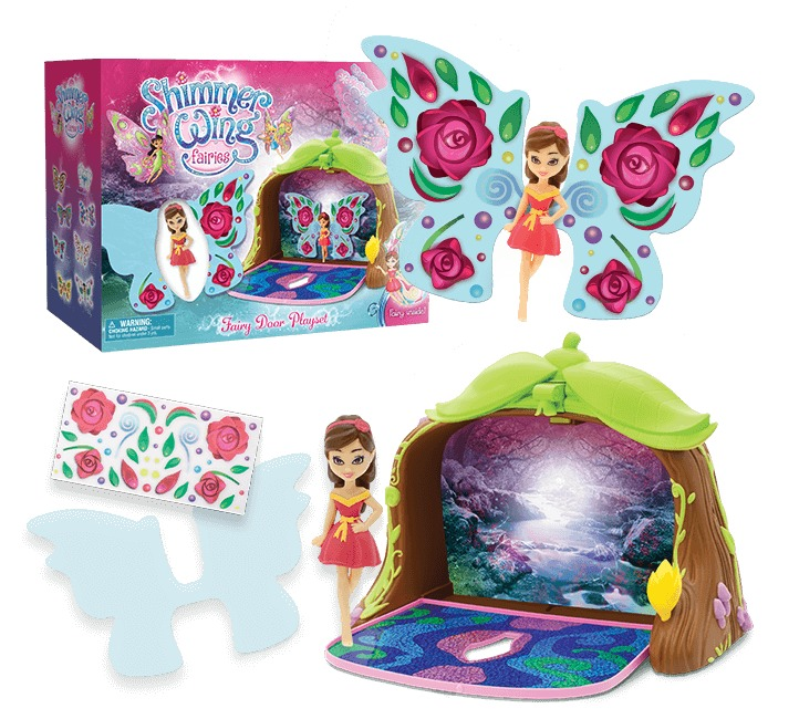 Shimmer Wings: Fairies - Fairy Door Playset image