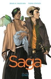 Saga: Volume 1 by Brian K Vaughan