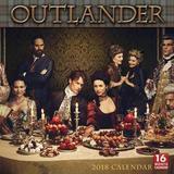 Outlander 2018 Calendar by Starz