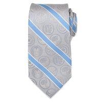 Marvel Comics: Grey & Blue Stripe - Mens Silk Tie
