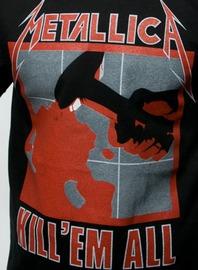 Metallica: Kill Em All - Black T-Shirt (Small)