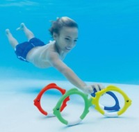 Intex: Underwater Fish - Diving Rings image