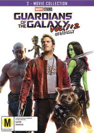 Guardians of the Galaxy: 2 Movie Collection on DVD