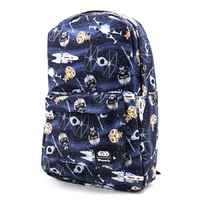 Loungefly: Star Wars - Chibi X-Wing / TIE Fighter Backpack