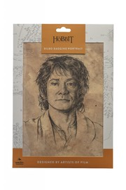 "The Hobbit: Portarit of Bilbo Baggins - 14"" Art Print image"