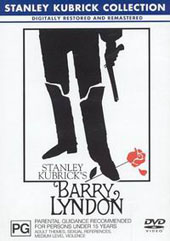 Barry Lyndon on DVD