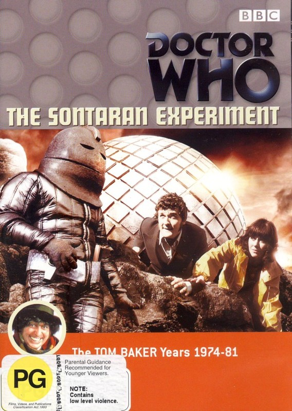 Doctor Who - The Sontaran Experiment on DVD
