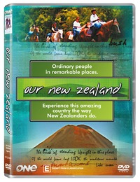 Our New Zealand on DVD image