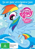 My Little Pony: Friendship is Magic - Up and Away with Rainbow Dash on DVD