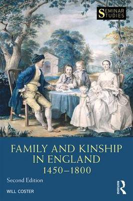 Family and Kinship in England 1450-1800 by Will Coster image